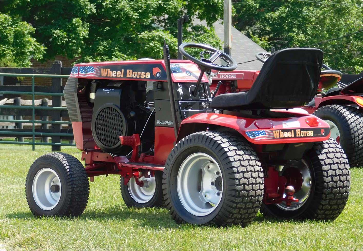 Wheel Horse Gt14 : Featured