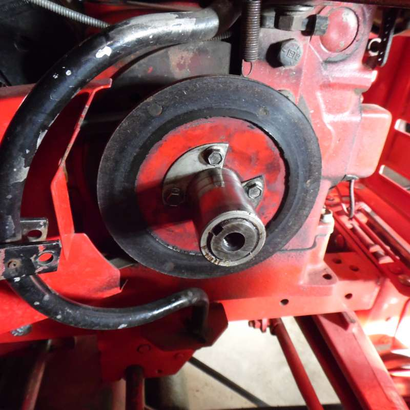 Home Made Tractor Clutch : Pto clutch disc diy whs forum