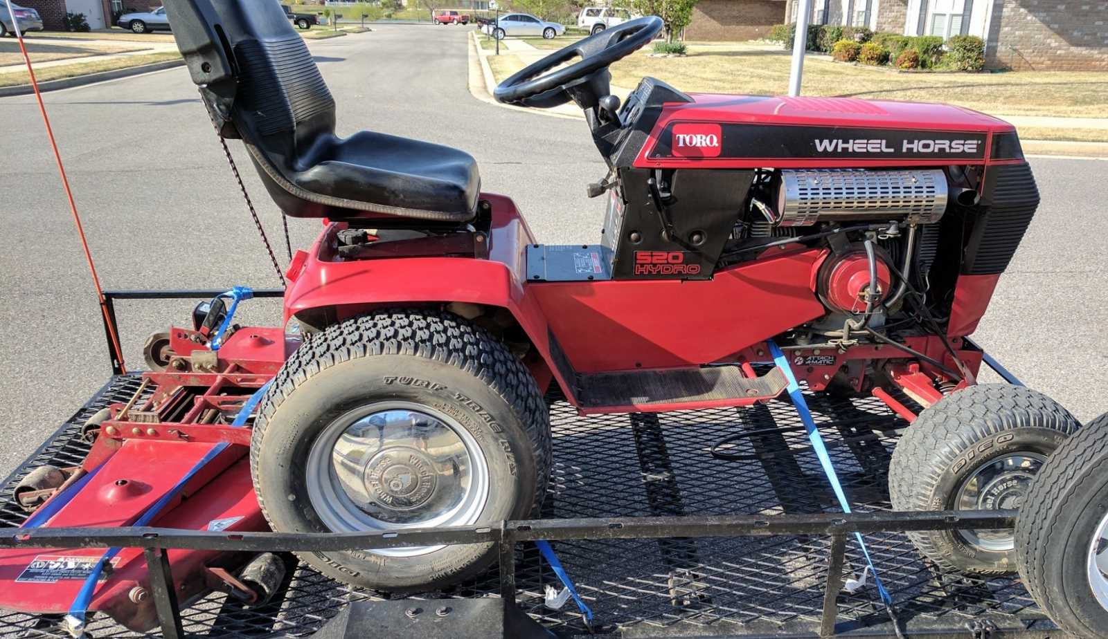 416 8 replacement otions and will a 42 deck fit on 520h whs forum rh wheelhorsestables com Wheel Horse Shop Manual toro wheel horse 416 h manual