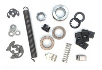 Bushings, Clips, Collars, Springs